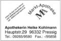 Markt-Apotheke Heike Kohlmann